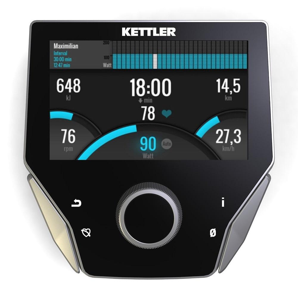 kettler axiom trainingscomputer display