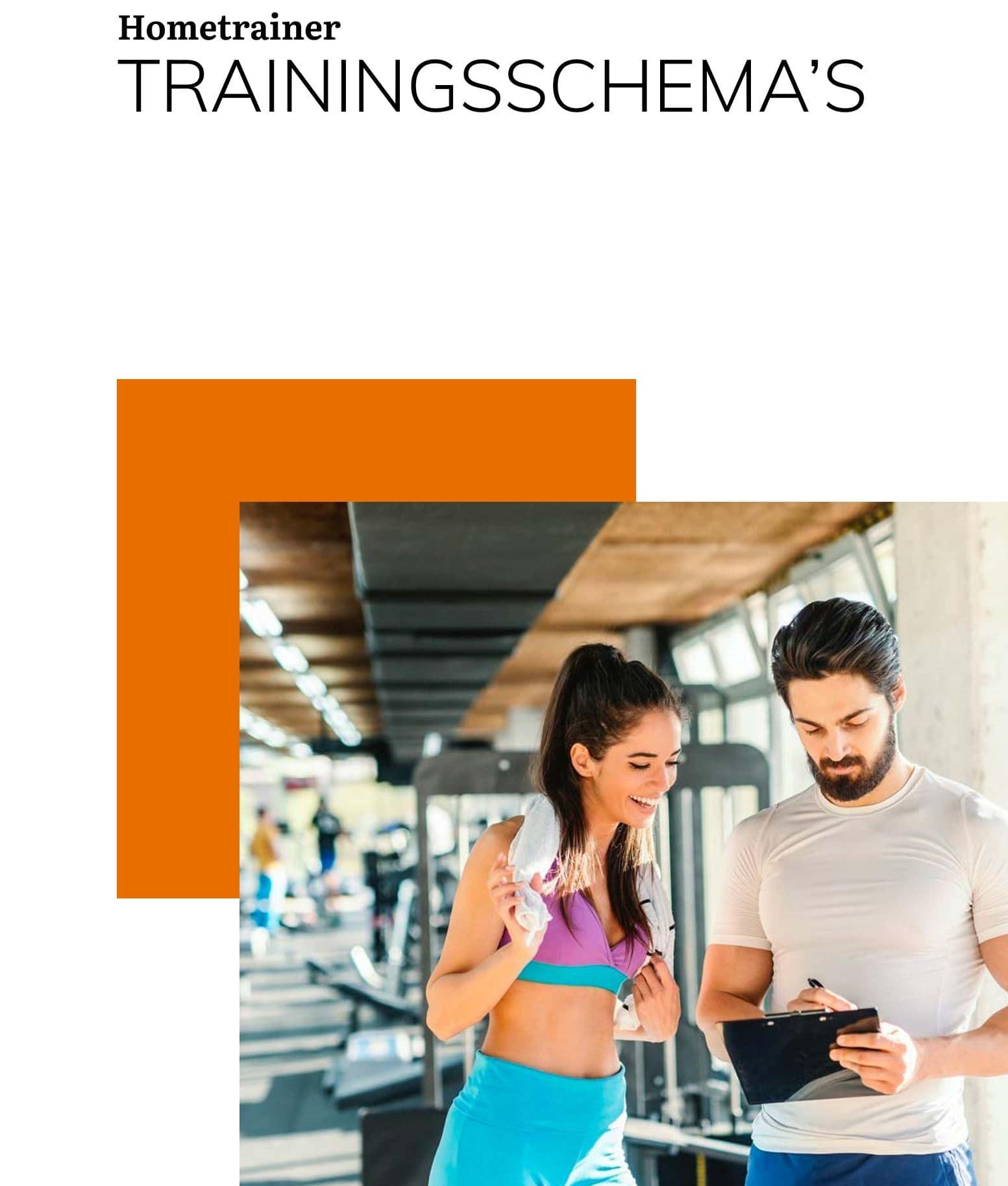 Hometrainer trainingsschemas gratis ebook cover